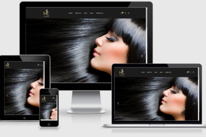 Hair Envy Website Development