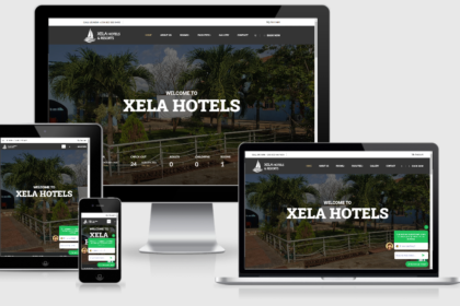 Xela Hotels Website Development